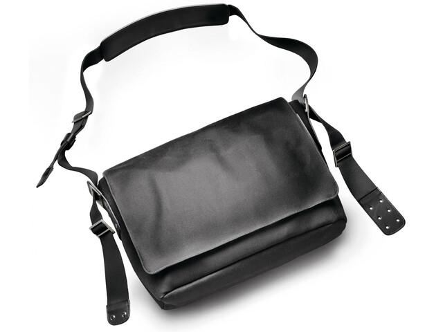 Brooks Barbican Shoulder Bag Canvas total black